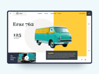 Eraz First Armenian Vehicle - Web Concept