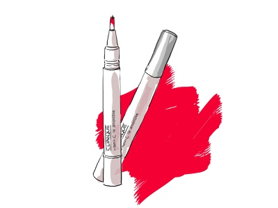 Photoshop illustration of a makeup tool. style cosmetic beauty lip brush artwork hand drawn tool makeup product art painting photoshop flat illustration design illustration drawing digital painting digital illustration digital