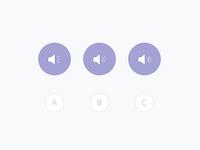 App sound icon detail