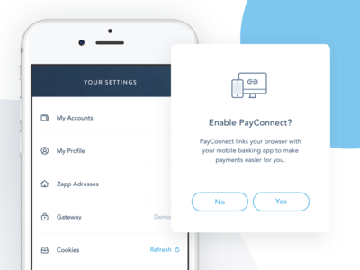 Mobile Payments App UI
