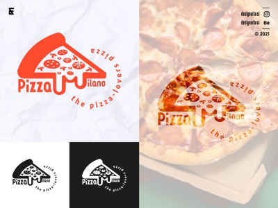 Pizza Logo company logo brand logomaker logo logodesign minimal minimalist logo logotype logo trends 2021 icon typography creative logo abstract logo modern logo flat icons flat logo flat restaurant logo pizza pizza logo