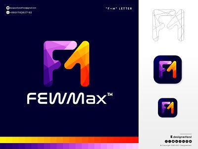 FM letter logo - Abstract letter logo logo designer logo maker business logo minimalist logo letter logo m logo f logo 3d branding graphic design ui illustration design logotype logo icon typography creative logo abstract logo modern logo