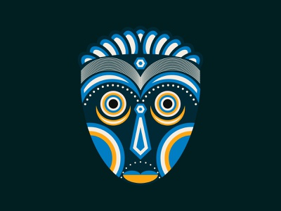 Lula Tribal Mask tshirt art artist creative ancient geometric ritual zulu trational traditional illustration tikimask tiki hawaiian ceremonial traditional art spiritual tribe mask african lula
