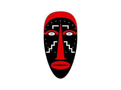 Ligbi Mask shop online designbyhumans t-shirt design t-shirt illustration tshirt design geometry tiki tribal aprican spirit tribe people aztec culture ancient zulu african traditional spiritual abstract african mask ligbi tribal ligbi mask