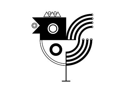 Bird Sign fashion black online shop online store creativity zodiac tattoo tshirt designbyhumans cute illustrator shapes geometric animal lover sign symbol outline drawing vector bird