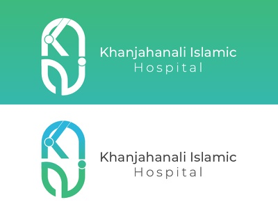 Khan jahan ali Hospital logo homepage medical logo brand medical hospital