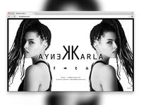 Landingpage Karla Kenya