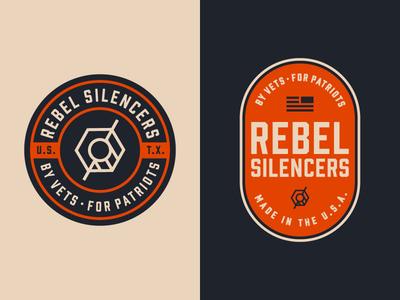 Rebel Silencers Badges