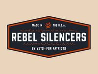 Rebel Silencers Badge