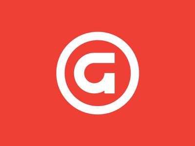 Gander Outdoors gander outdoors gander round line identity logomark mark branding logo icon g letter