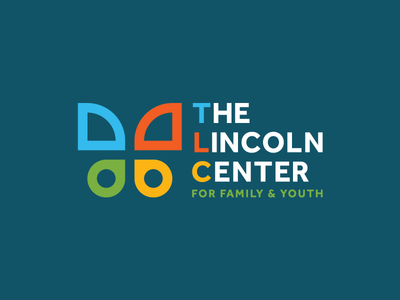 The Lincoln Center Logo minimal shape geometric insect wing butterfly icons iconography icon identity branding logo