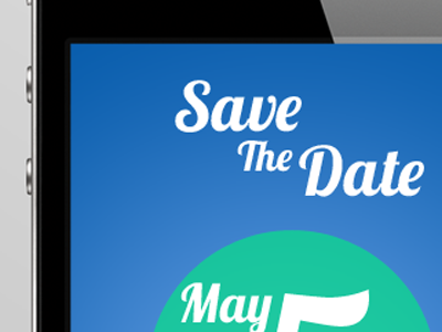 save the date by case morton dribbble dribbble