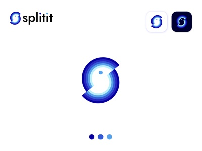 splitit  modern  app logo design logodesigns creativelogo logocreation logoshift logotipos s monogram s letter design logo vector illustrator brand icon modern logo logo design branding symbol s mark s letter logo s bird logo