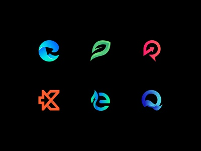 Logos collection minimal startup design brand modern logo identity icon logo mark mark monogram logotype symbol branding logo design logo logos