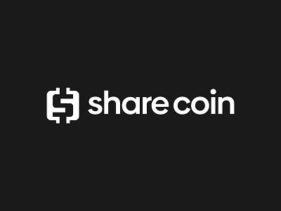 share coin - Crypto Branding icon modern logo branding currency ui brand bitcoin btc monogram symbol creative logo design startup crypto cryptocurrency fintech logo redesign bitcoins design logo logo design