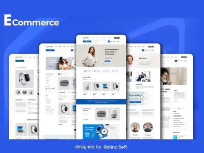 Ecommerce 2 retina soft design blog online store online shop ecommerce