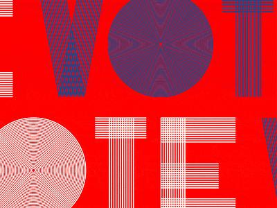 VOTE help us donald trump hillary clinton imwithher print monoline poster 2016 election vote