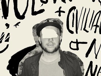 Volunteer civillian volunteer band gig print poster show poster