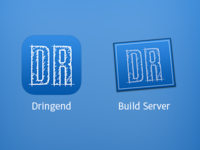 Dringend and Build Server icons