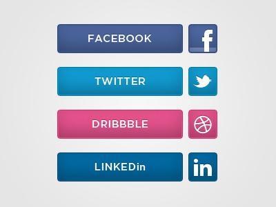 Social Media Icons social media