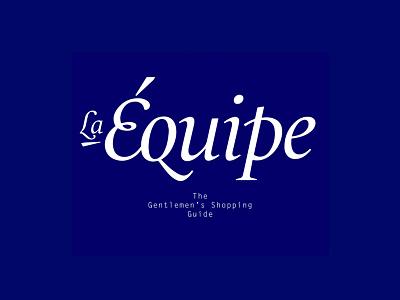 LaeÉuipe gentlemen logo fashion