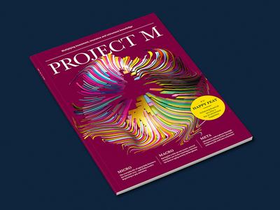 Project M Cover colour data visualization 3d