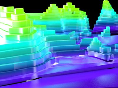0907 colorful render 3d