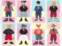 Fashion Zoo (part 3)