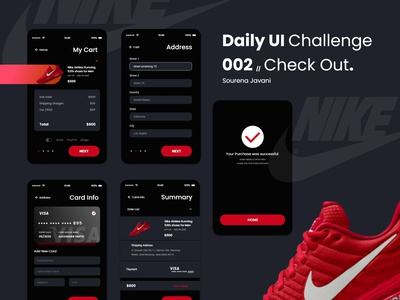 daily UI 002 // Check Out design uxui ui design adobexd userinterface ux ui