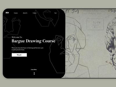 Daily UI 003 // Landing Page drawing userinterface illustration adobexd ui design ui