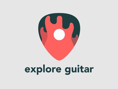 Exploreguitar fender stratocaster fire illustrator logo guitar location