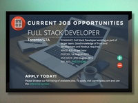 Jobs Board for Digital Signage