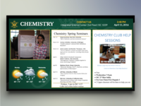 College of William and Mary Digital Signage
