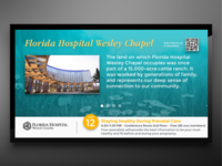 Florida Hospital Wesley Chapel Digital Signage