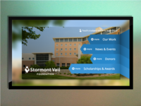 Stormont Vail Foundation Information Display