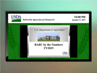 USDA Betsville Agricultural Research Digital Signage
