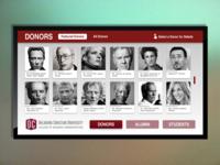 Oklahoma Christian University Interactive Donor Wall