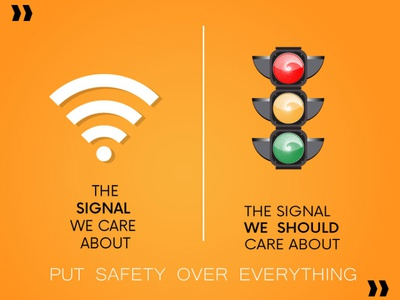 About SIGNAL icon typography illustration design