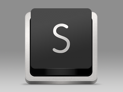 Sublime Text Replacement Icon - Dark version icon replacement keyboard key dark sublime text