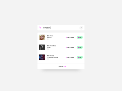 Search - Daily UI #022 music album music app music play songs song finding finder find auto complete autocomplete form fields form field form search engine search box search bar search 022 dailyui