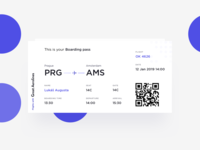Boarding Pass - Daily UI #024