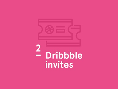 2018 Dribbble giveaway!