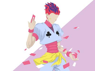 Anime Illustration graphicdesign wallpaper vector illustration vectorart vector portrait art cartoon illustration design