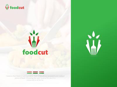 FOODCUT | FOOD | RESTAURANT | COMPANY | LOGO | DESIGN logo design minimalist logo branding design custom logo design brandidentity logodesign company logo
