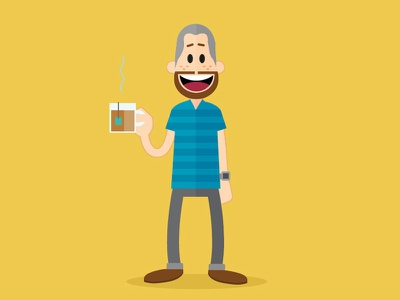 Its me! flat illustration vector minimal