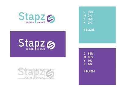 Logo Stapz typography logo branding design