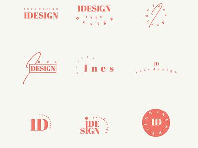 Feminine logo logo variations feminine logo design logos brand design branding and identity brand identity logo branding graphic design