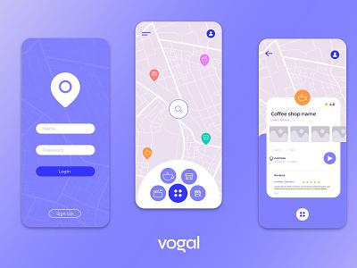 Places Finder Map - UX & UI Design design trendy design mobile app development mobile app design mobile app ux ui design ux ui trendy trending popular