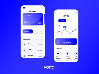 Personal Finance App - UX & UI Design mobile app development mobile app design mobile app ux ui design trendy design trendy trending popular