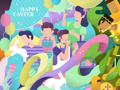 Happy Easter egg balloon party bunnies malaysian festival christian malaysia bunny easter egg happyeaster easter bunny easter eggs easter